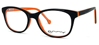 Brille Elmo schwarz-orange